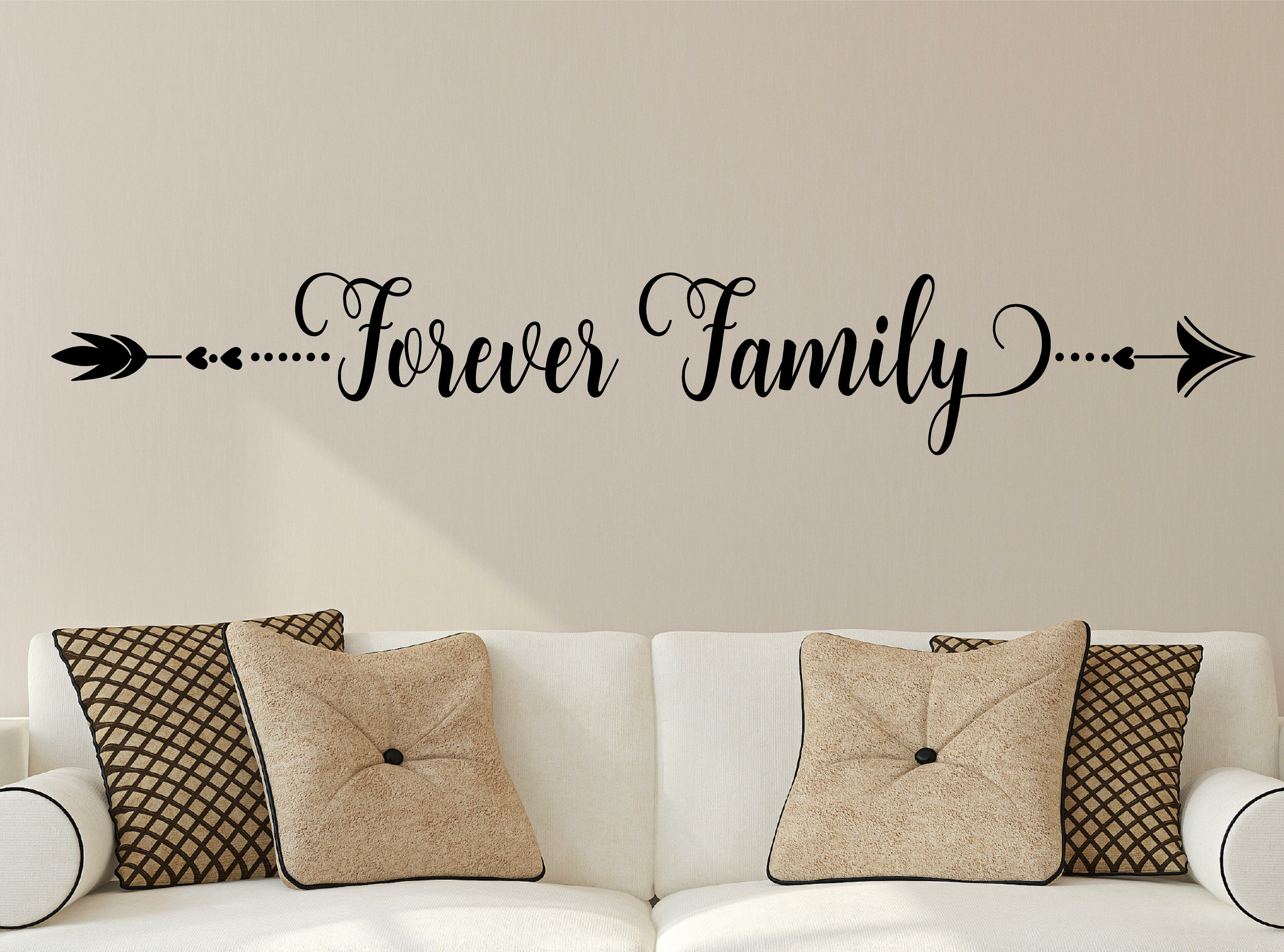 Welcome Scroll Vinyl Decal Wall Sticker Words Lettering Quote Home Entry Decor
