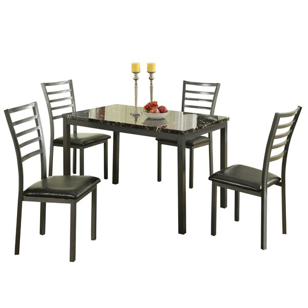 Chism Modish Feast 5 Piece Dining Set by Ebern Designs