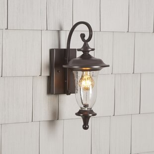 Coupon Quarry 1-Light Outdoor Wall Lantern By Birch Lane™
