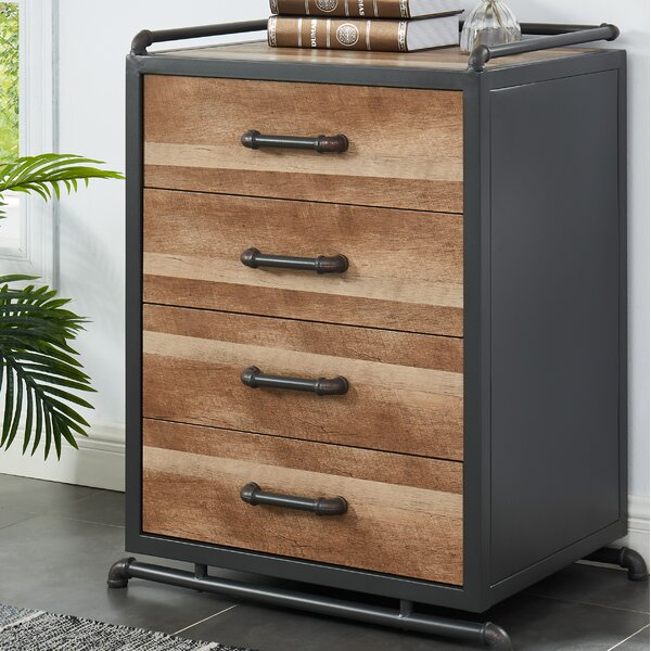 Magill 4 Drawer Accent Chest