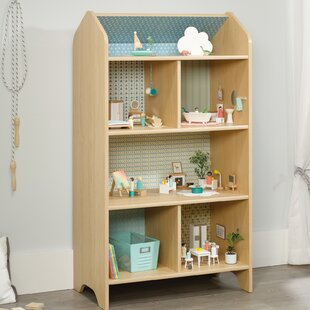 Affordable Garza Dollhouse 50 Bookcase by Harriet Bee