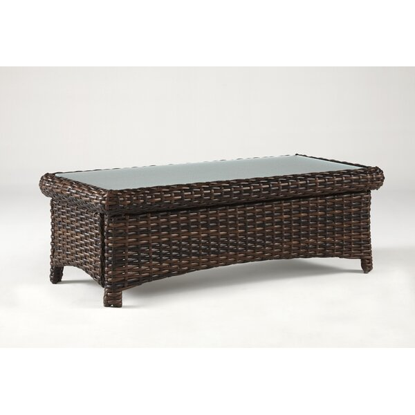 Chorio Glass Coffee Table by Bay Isle Home