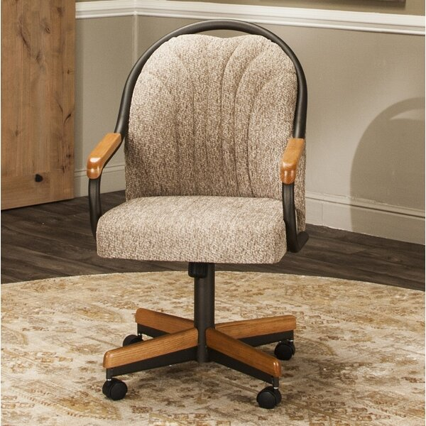 #1 Cearley Upholstered Dining Chair By Red Barrel Studio Great price