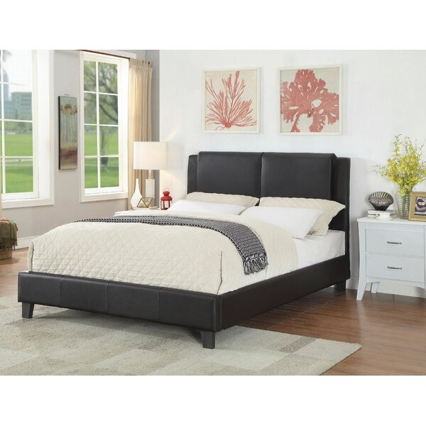 Harness Queen Upholstered Platform Bed by Ivy Bronx