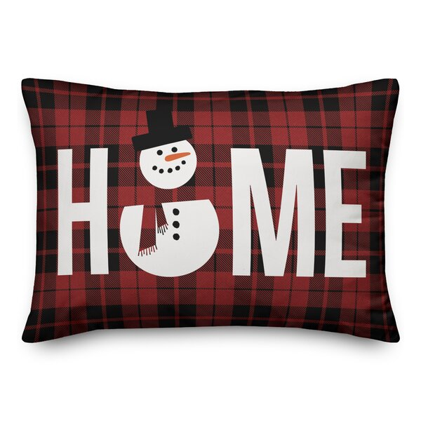 Torrens Snowman Home Lumbar Pillow by The Holiday Aisle