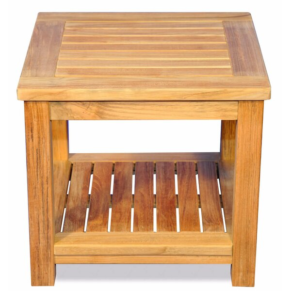 Roney Teak Side Table by Loon Peak