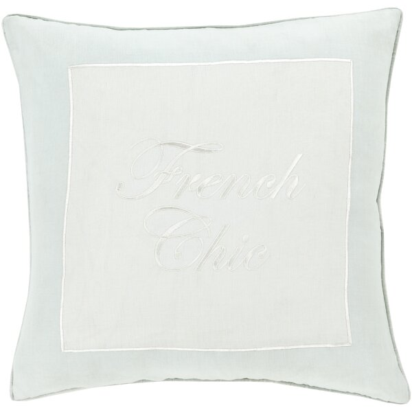 Cornelius French Chic Throw Pillow by House of Hampton