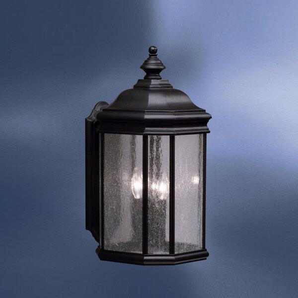 Kirkwood 3-Light Outdoor Wall Lantern by Kichler