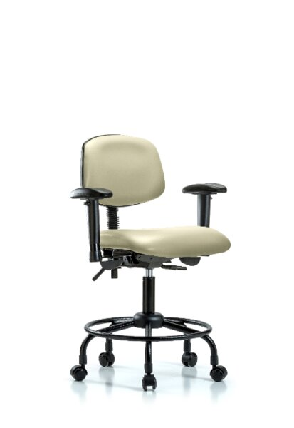 Otis Round Tube Base Ergonomic Office Chair by Symple Stuff