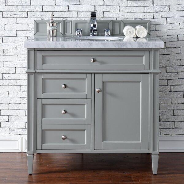 Deleon Traditional 36 Single Urban Gray Bathroom Vanity Set by Darby Home Co