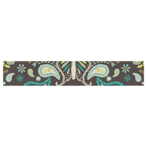 Suzie Tremel Butterfly Garden Table Runner by East Urban Home