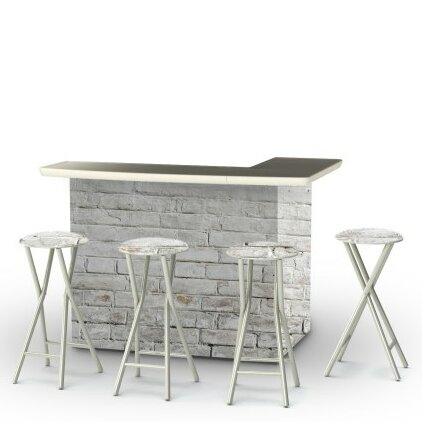 Cinderblock 7 Piece Bar Set by Best of Times