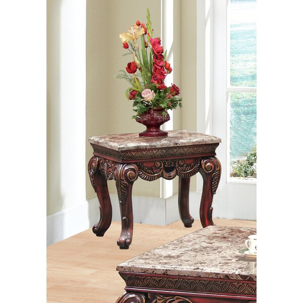 Belcara End Table by Astoria Grand