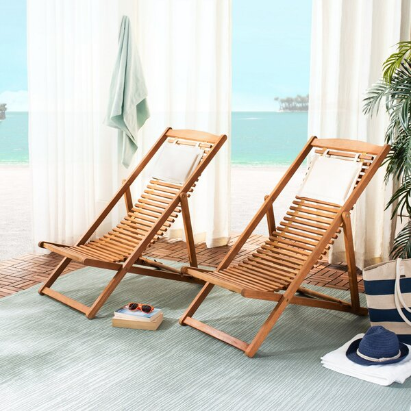 Ciara Relax Patio Chair by Rosecliff Heights