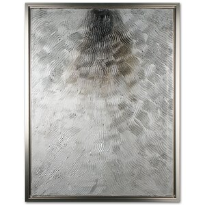 'Silver Fire' Graphic Art Print on Wrapped Canvas by Orren Ellis