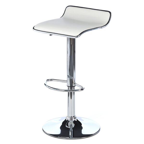 Wagenen Adjustable Height Swivel Bar Stool by Wrought Studio