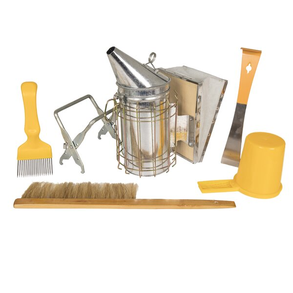 Home Harvest 6 Piece Beekeeping Accessory Set by W