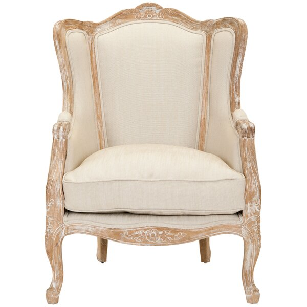 Vivien Wingback Chair by One Allium Way