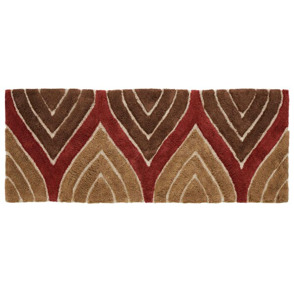 Wilshire Multiple 100% Cotton Abstract Bath Rug