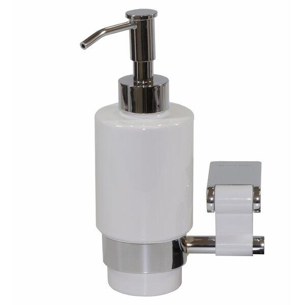 Iris Wall Soap Dispenser by Hispania Home