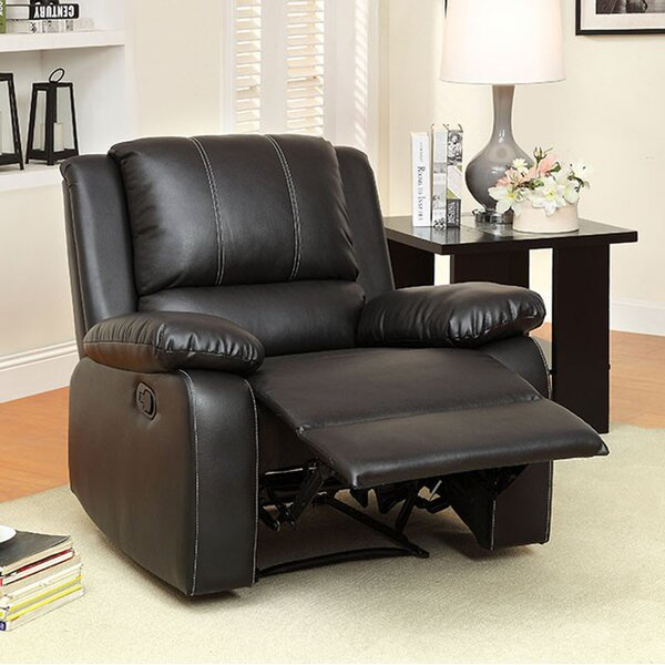 Rockhampton Manual Recline Rocker Recliner by Latitude Run