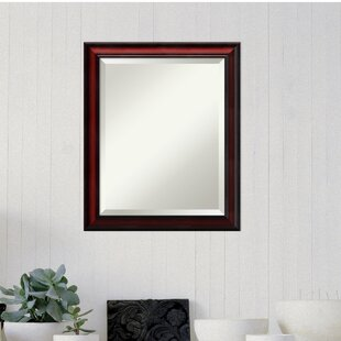 Darby Home Co Rectangle Cherry Accent Wall Mirror