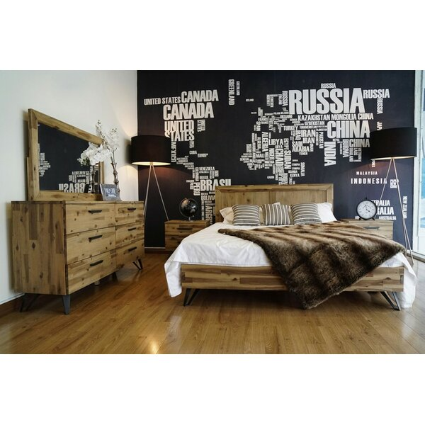Rashida Light Wood Configurable Bedroom Set by Union Rustic