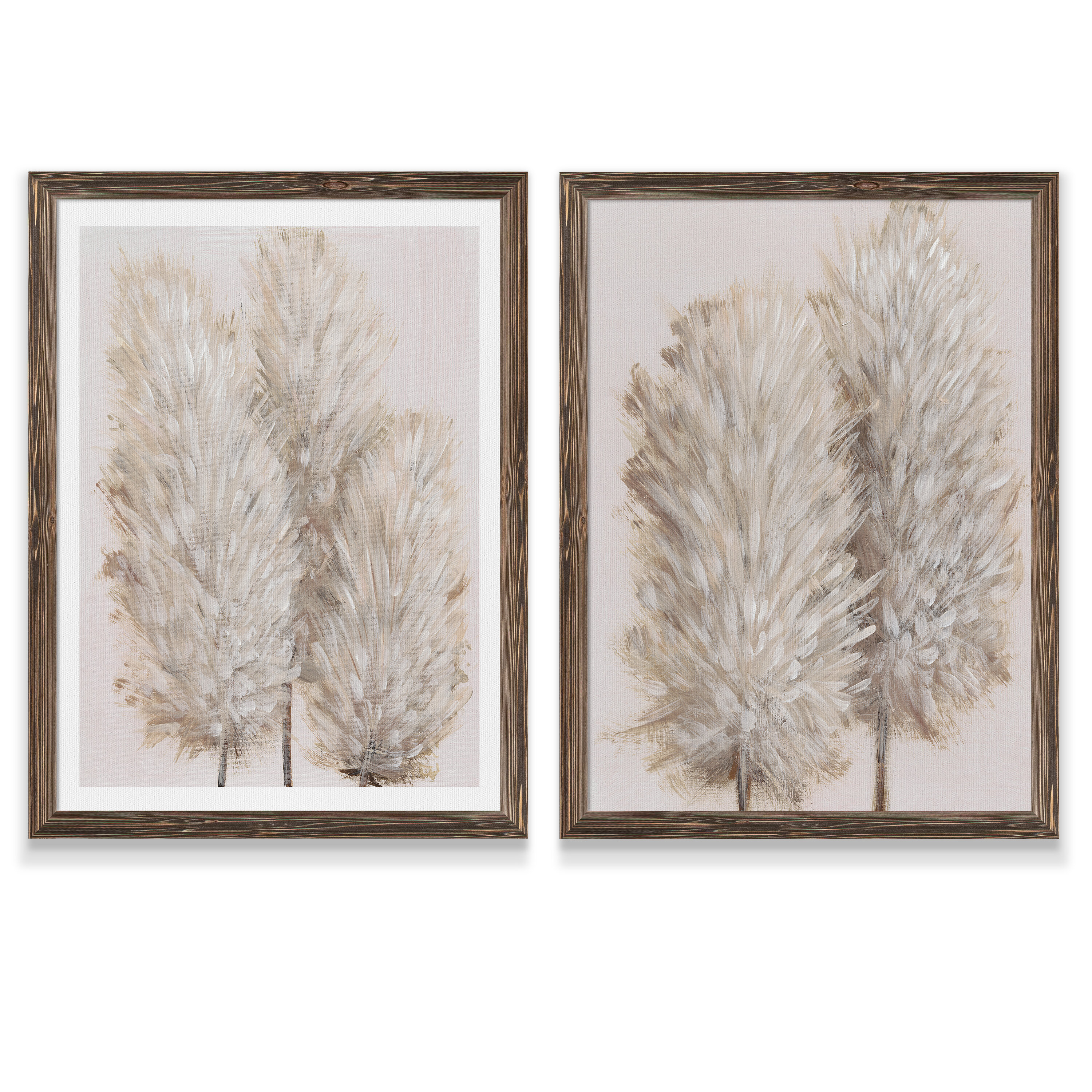 Ophelia Co Pampas Grass Iii By Vincent Van Gogh 2 Piece Picture Frame Painting Print Set Reviews Wayfair
