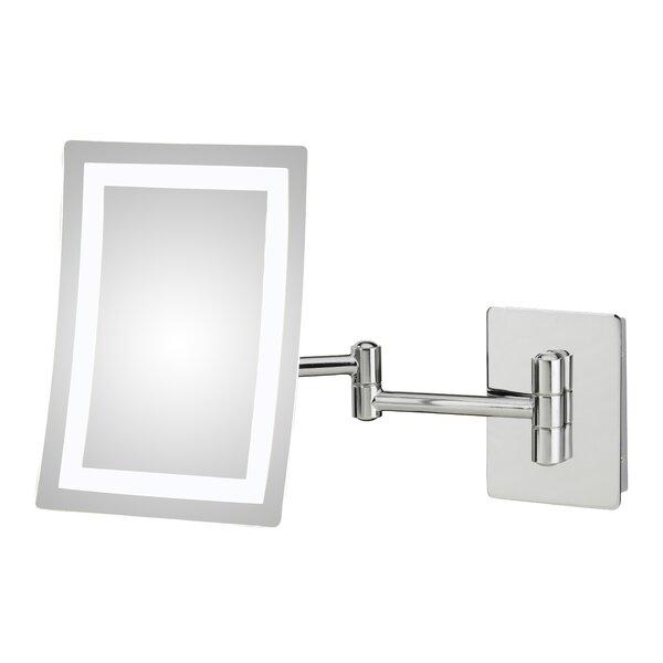 Nishank Single Sided LED Wall Mirror by Orren Ellis
