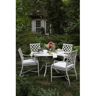 Lattice 5 Piece Dining Set By Summer Classics