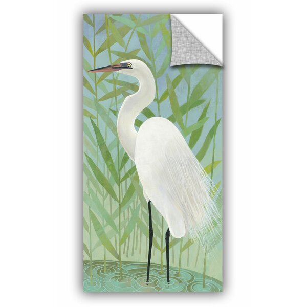 Stoker Egret by the Shore II Wall Decal by Bay Isle Home