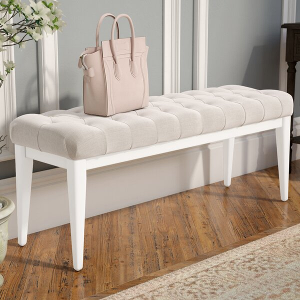 Gilboa Upholstered Bench by Ophelia & Co.