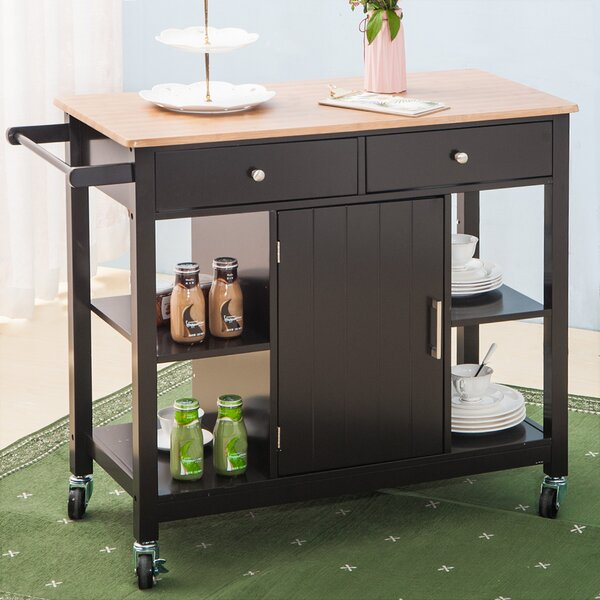 Shipley Kitchen Cart by August Grove