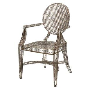 Charmant Gerhardina Handcrafted Metal Armchair