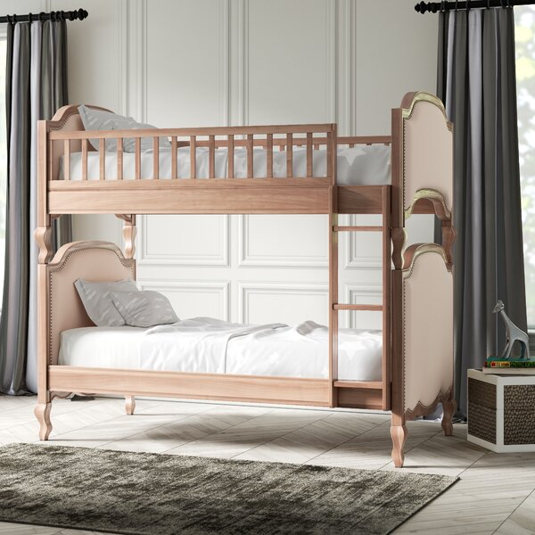 Silvestre Twin Bunk Bed by Greyleigh