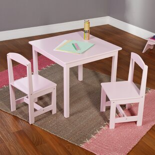 Pink Square Kids Table Chair Sets Youll Love Wayfair - Wayfair kids table and chairs