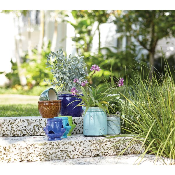 Divina Ceramic Pot Planter (Set of 3) by Mercury Row