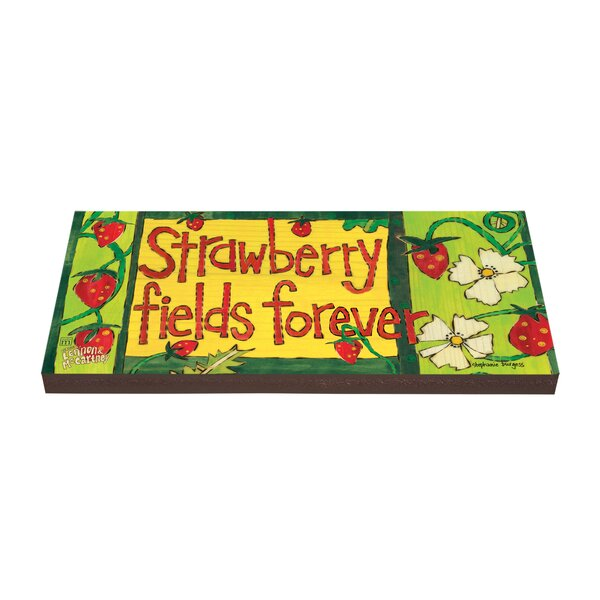 Strawberry Fields Forever Stepping Stone by Studio M