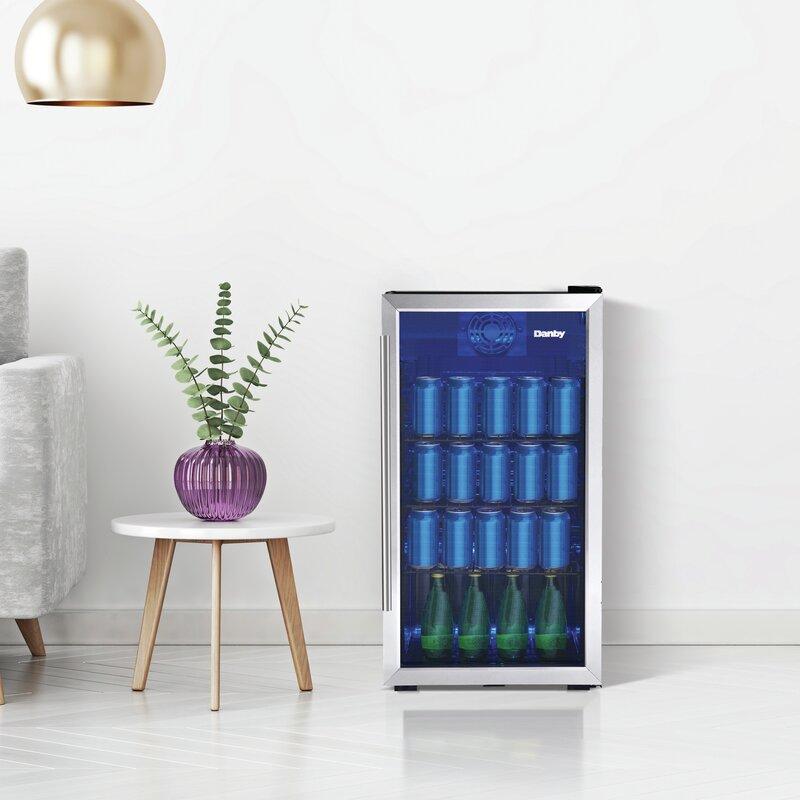 Danby 117 Can Freestanding Beverage Refrigerator Reviews Wayfair