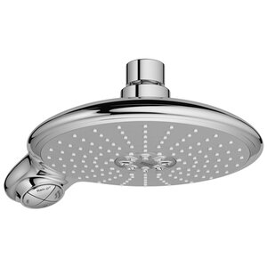 Starlight Power&Soulu00ae Volume Control Shower Head with DreamSpray Technology and Select