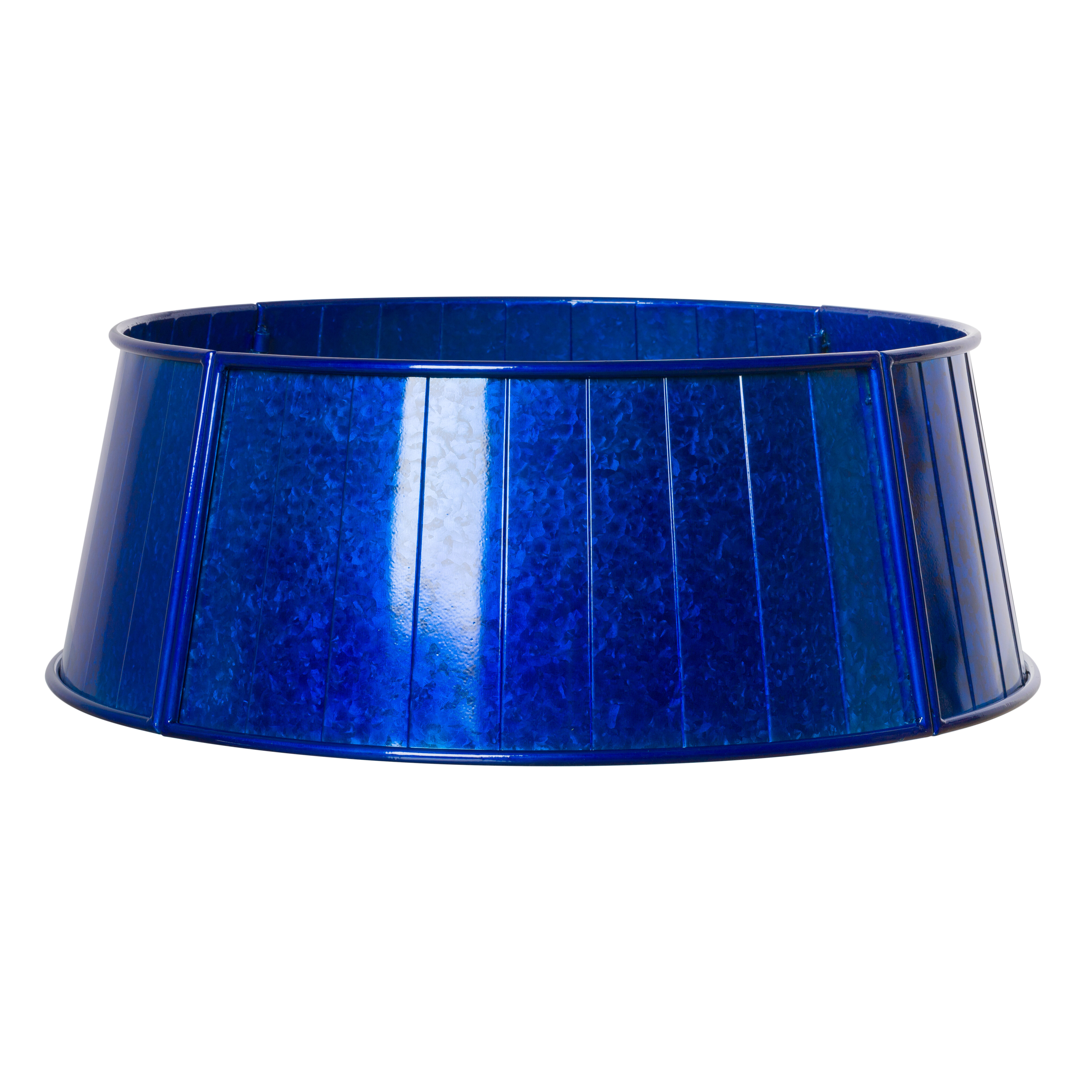 Blue Silver Christmas Tree Skirts Collars You Ll Love In 2021 Wayfair