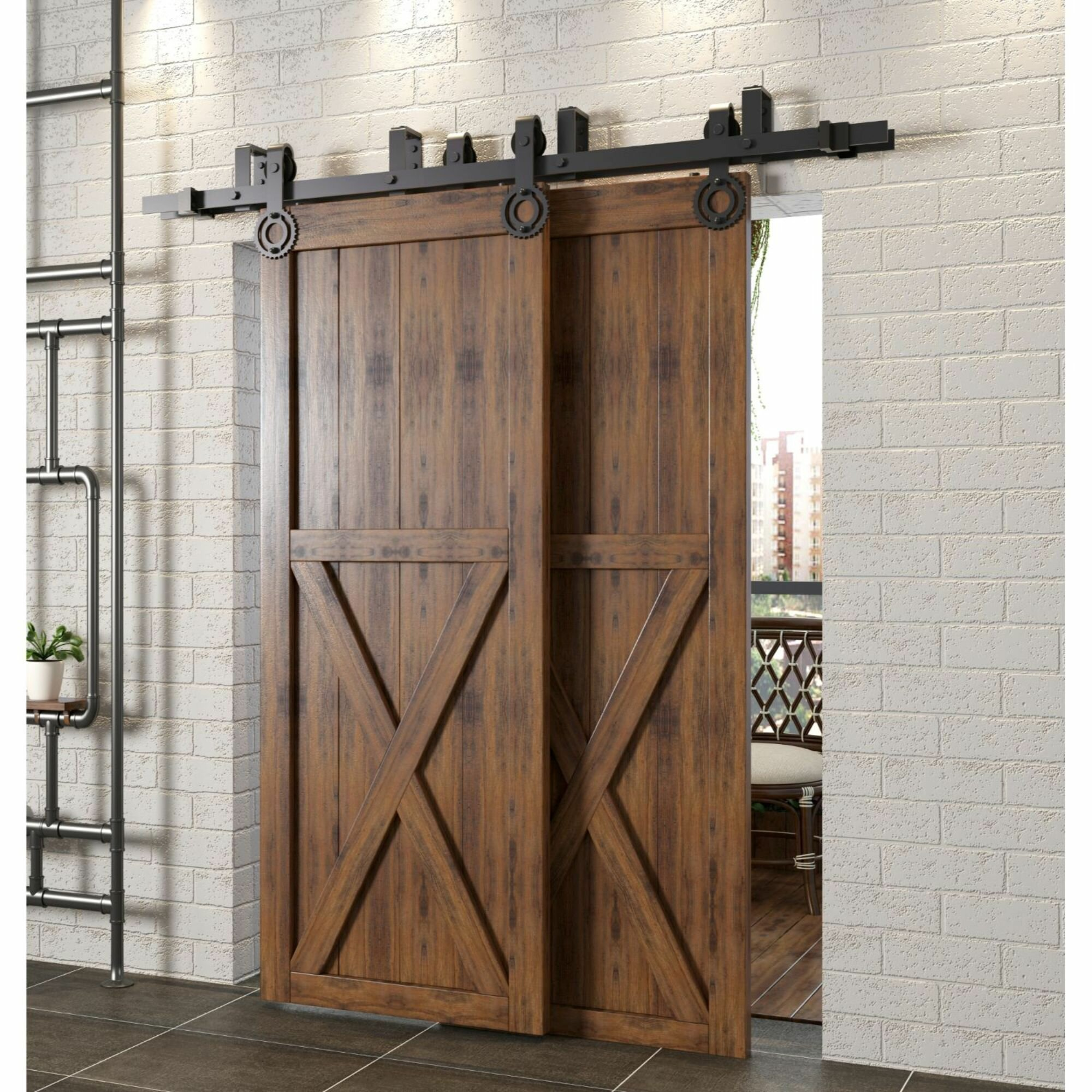 Sliding Barn Wood Door