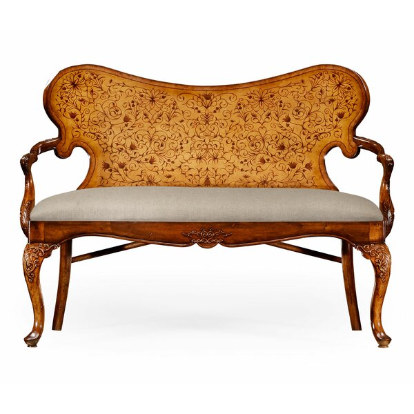 Weekend Promotions La Rochelle Settee by Jonathan Charles Fine Furniture by Jonathan Charles Fine Furniture