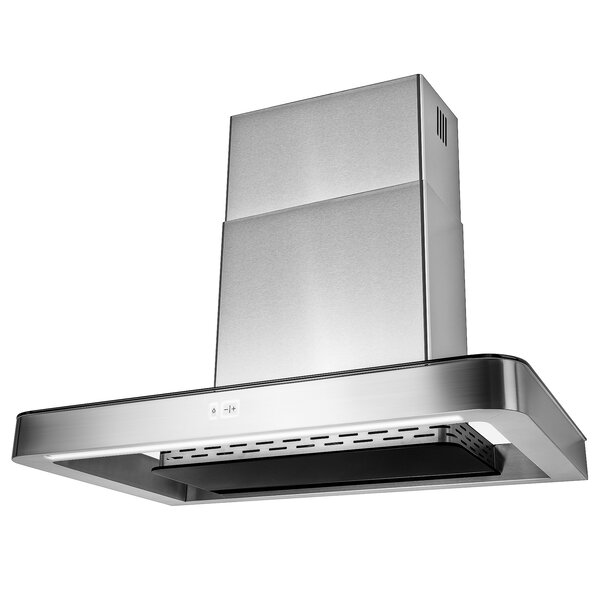 30 295 CFM Ducted Wall Mount Range Hood by AKDY