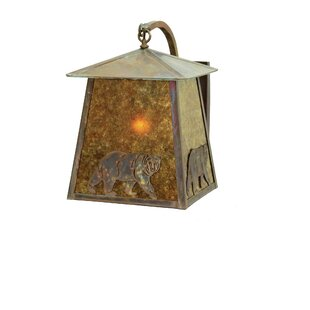 Clearance 1-Light Outdoor Wall Lantern By Meyda Tiffany