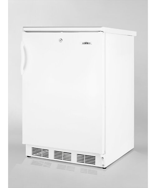 Accucold 23.63-inch 5.5 cu.ft. Compact All-Refrigerator with Lock by Summit Appliance