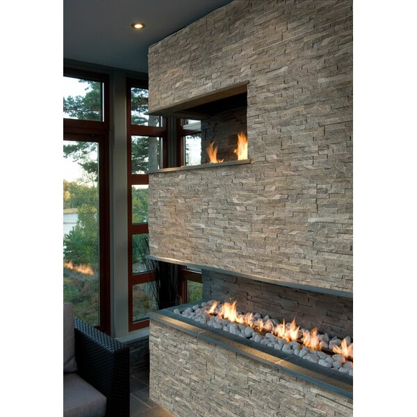 6 x 24 Natural Stone Splitface Tile in Green by MSI