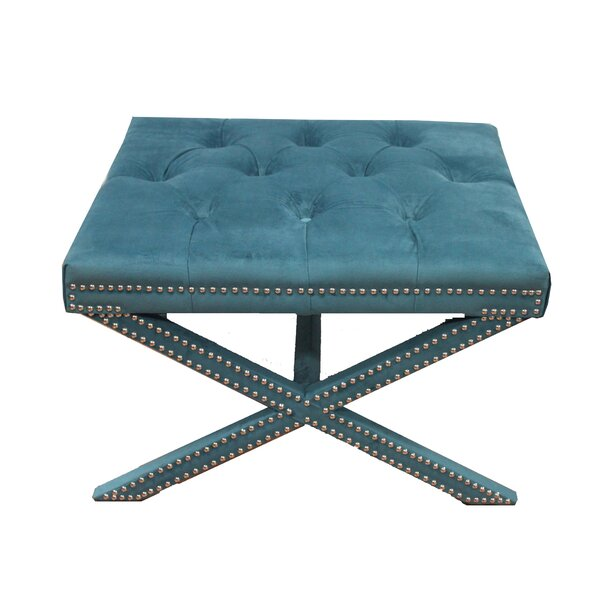 Upholstered Stool by House of Hampton