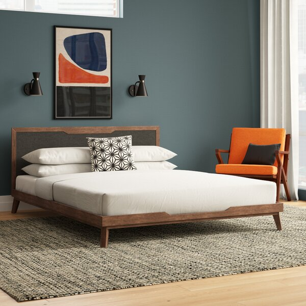 Ronan Upholstered Platform Bed by Modern Rustic Interiors