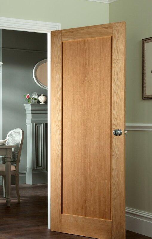 Jeld Wen Shaker Solid Mdf Panelled Slab Internal Door